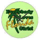 Todos ama a los chicas de la Florida Reloj