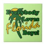 Todos ama a los muchachos de la Florida Azulejos Cerámicos
