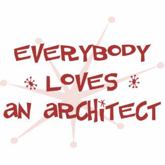 Todos ama a un arquitecto escultura fotográfica