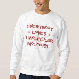 Todos ama a un biólogo molecular sudadera