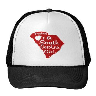 Todos ama a un chica de Carolina del Sur Gorra