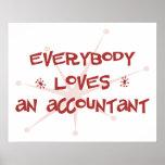 Todos ama a un contable poster