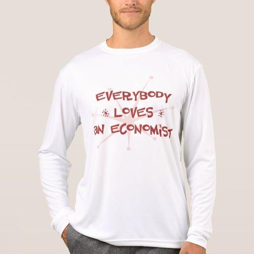 Todos ama a un economista camisetas