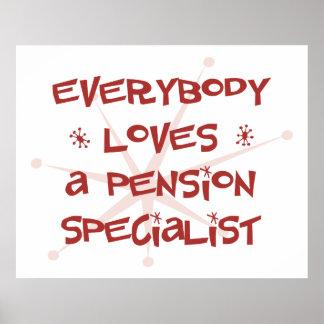 Todos ama a un especialista de la pensión poster