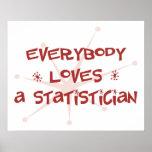 Todos ama a un estadístico impresiones