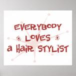 Todos ama a un estilista poster