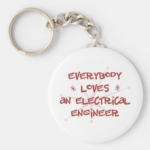Todos ama a un ingeniero eléctrico llavero