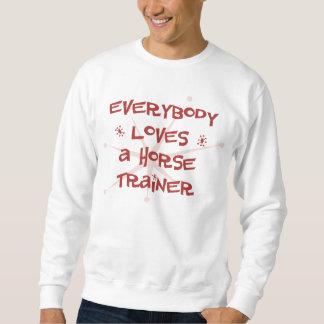 Todos ama a un instructor de caballo sudadera