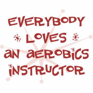 Todos ama a un instructor de los aeróbicos esculturas fotográficas