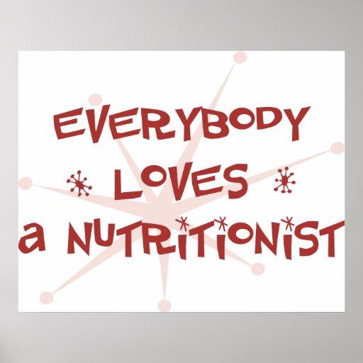 Todos ama a un nutricionista impresiones
