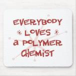 Todos ama a un químico del polímero tapetes de ratón