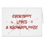 Todos ama a un reumatólogo tarjetón