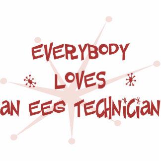 Todos ama a un técnico de EEG Escultura Fotográfica