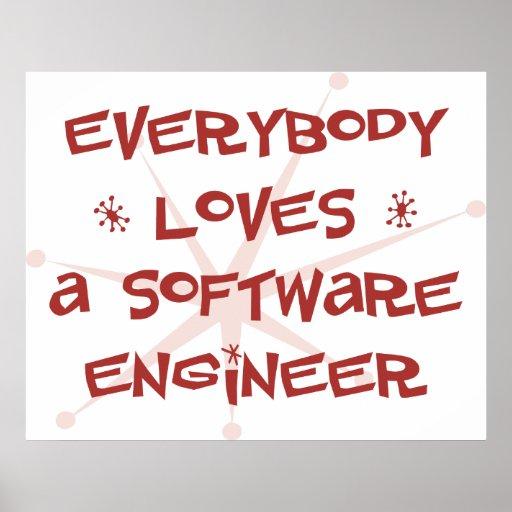 Todos ama a una Software Engineer Póster