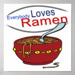 Todos ama la parodia de los Ramen Posters