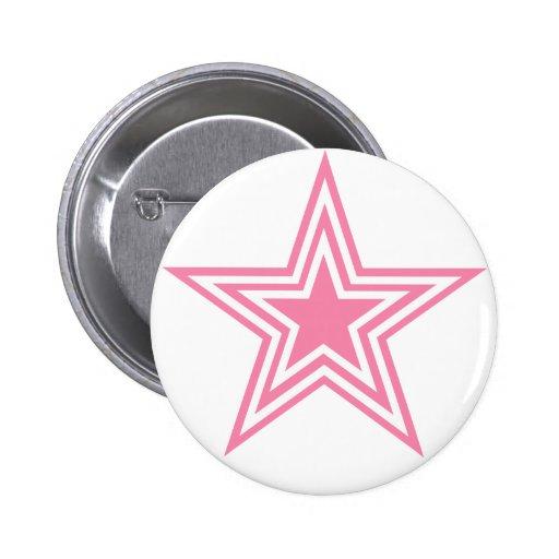 Todos ama las estrellas pin redondo 5 cm