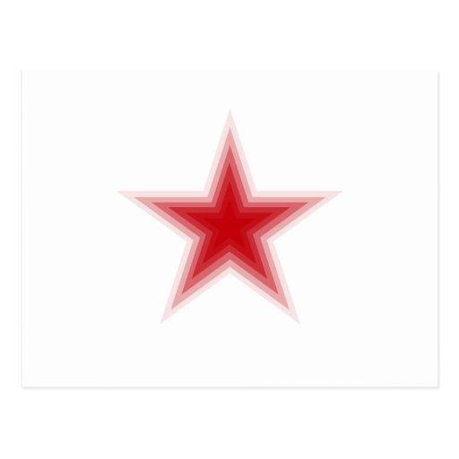 Todos ama las estrellas tarjeta postal
