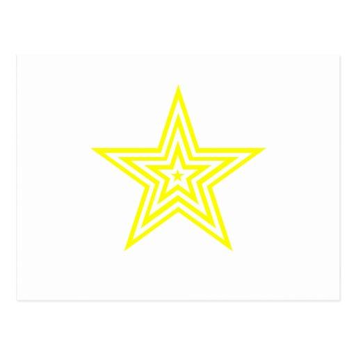Todos ama las estrellas tarjetas postales