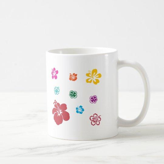 Todos ama las flores taza de café