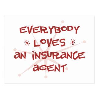 Todos ama un agente de seguro postal