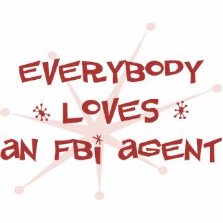 Todos ama un agente del FBI Adorno Fotoescultura