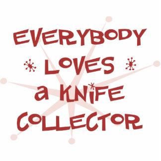 Todos ama un colector del cuchillo esculturas fotográficas