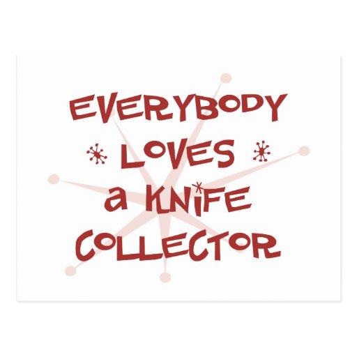 Todos ama un colector del cuchillo postal