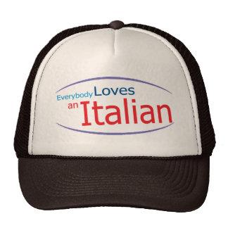 Todos ama un gorra retro italiano