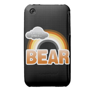 Todos ama un oso iPhone 3 fundas