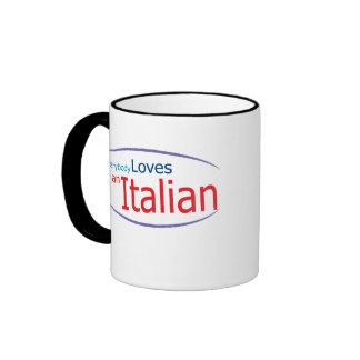 Todos ama una taza de café italiana