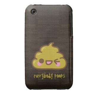 Todos caso del iPhone 3G de los impulsos iPhone 3 Case-Mate Protectores