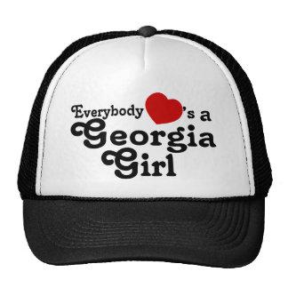 Todos corazones un chica de Georgia Gorro
