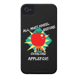 Todos deben arrodillarse antes de applefox del ove iPhone 4 Case-Mate cárcasa