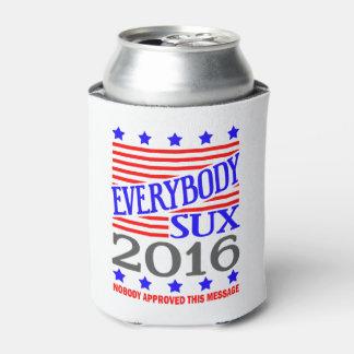 Todos elección presidencial de Sux 2016 Enfriador De Latas