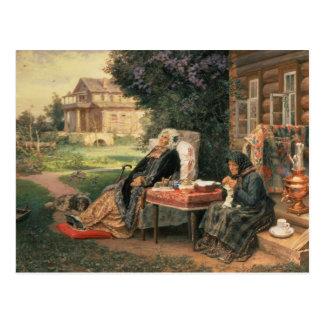 Todos en el pasado, 1889 postal