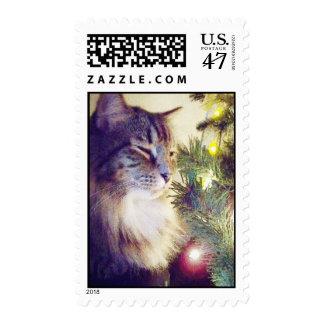Todos en luces timbre postal