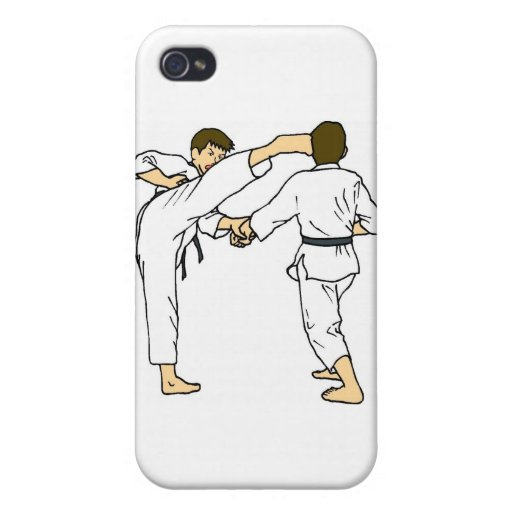 todos era lucha del fu del kung iPhone 4 cárcasa
