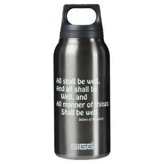 Todos estarán bien botella isotérmica de agua