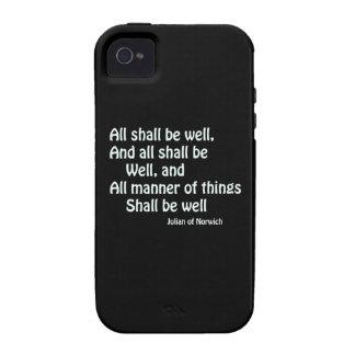 Todos estarán bien iPhone 4/4S funda