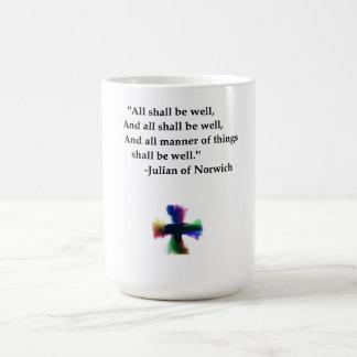 Todos estarán bien taza de café