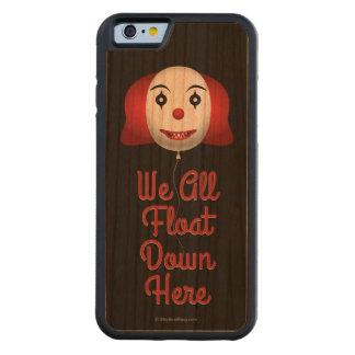 Todos flotamos abajo aquí funda de iPhone 6 bumper cerezo