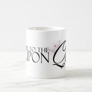 Todos granizan a la taza de café de la reina de l
