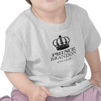 Todos granizan el príncipe camisetas