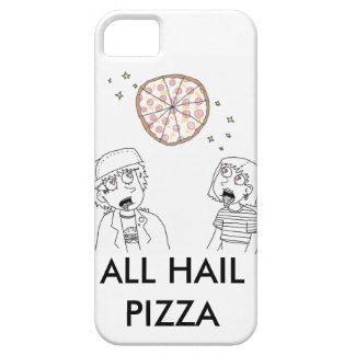 Todos granizan la pizza iPhone 5 funda