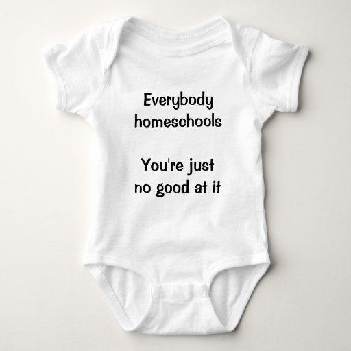 Todos homeschools playeras