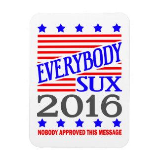 Todos imán de la elección presidencial de Sux 2016