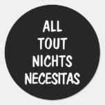 Todos importunan Nichts Necesitas Etiqueta