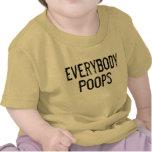 Todos impulsos camisetas