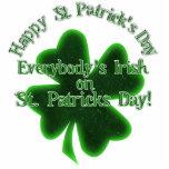 ¡Todos irlandés el el día de St Patrick! Escultura Fotografica