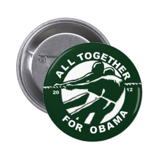 Todos junta para Obama 2012 (versión) Pin